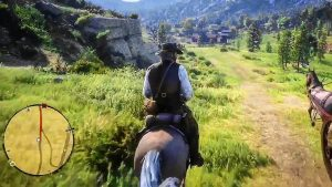 Red Dead Online gameplay PS4 xbox
