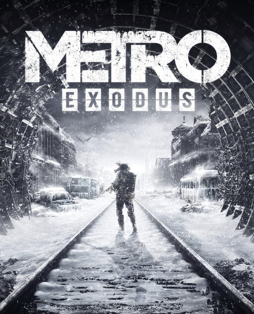 Metro Exodus cover for PS4, Xbox One and PC.